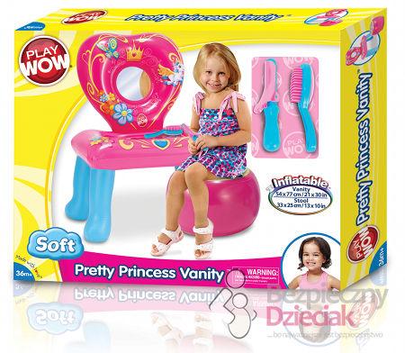 dmuchana toaletka dla dziewczynki play wow