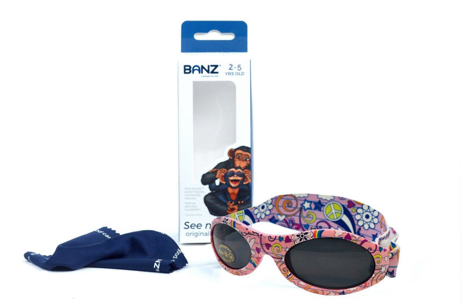 48d8fe3f104788 Okulary przeciwsłoneczne dzieci 2-5lat UV400 BANZ Kliknij, aby powiększyć  ...