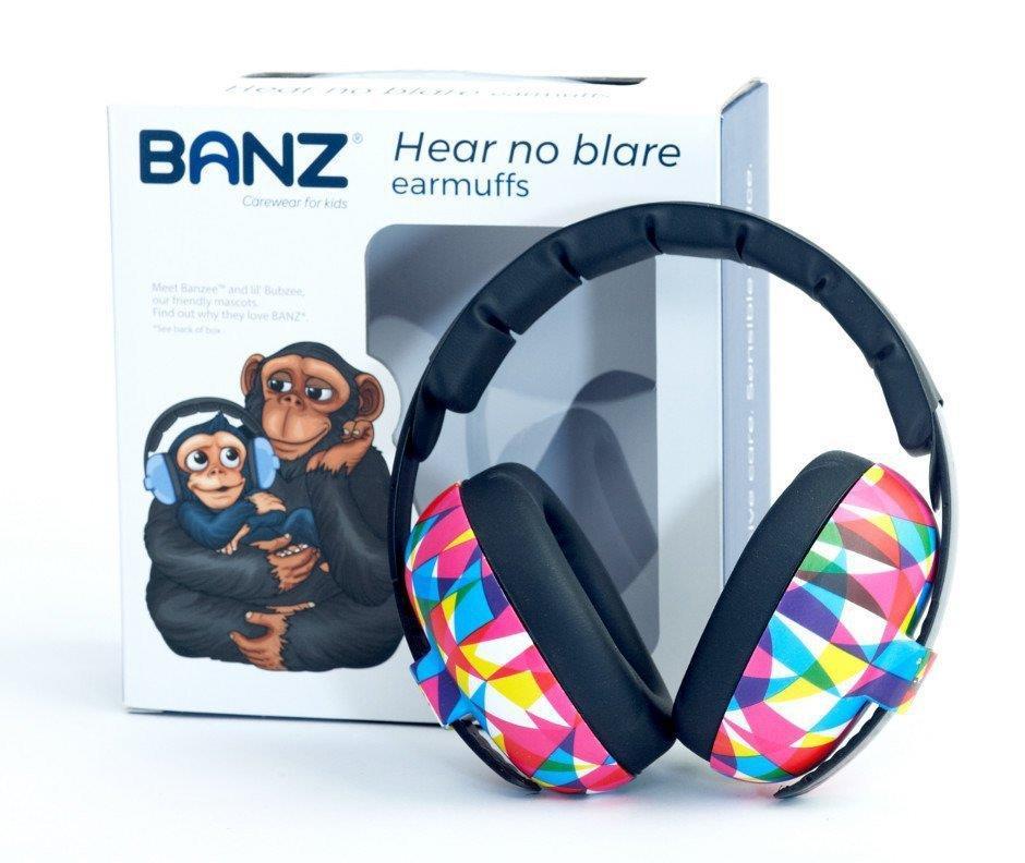Słuchawki ochronne nauszniki dzieci 0 3lat BANZ