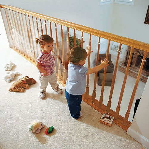 zabezpieczenie do balustrady folia pvc 400x90cm 400cm x. Black Bedroom Furniture Sets. Home Design Ideas